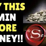 Law of Attraction Affirmation To MANIFEST MONEY (The Secret)