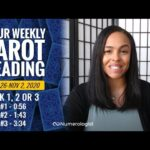 Your Weekly Tarot Reading October 26- November 2, 2020 | Pick #1, #2 OR #3