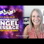 Angel Message 😇 The 1 Word You Need To Hear (Personalized Angel Card Reading)