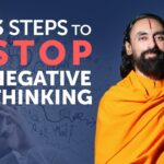 The 3 Steps to Stop Negative Thoughts and Emotions - Practice this Everyday | Swami Mukundananda