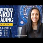 Your Weekly Tarot Reading November 2-9, 2020   Pick #1, #2 OR #3