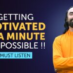 Getting Motivated in a Minute - MUST LISTEN Instant Inspiration by Swami Mukundananda
