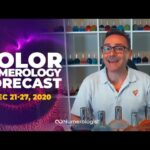 Your Weekly Color Numerology Forecast🎨🔢| December 21-27, 2020
