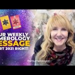 Pick A Number To Start 2021 The Right Way | Your Weekly Numerology Message