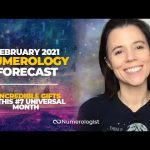 February 2021 Numerology Forecast: The 4 Gifts You'll Receive During This #7 Universal Month