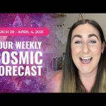 Cosmic Forecast March 29 - April 4, 2021 | Angel Month is Here!! 😇