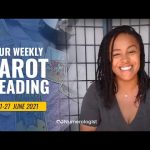 Your Personalized Weekly Tarot Reading 🃏🔮 21-27 JUNE, 2021